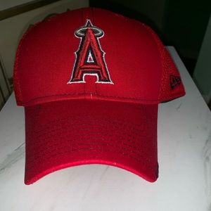 Authentic Anaheim Angels MLB hat  in red